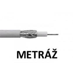 Koaxiální kabel  AMIKO RG6 CCS DS (1m)
