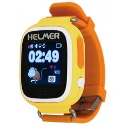 Helmer LK703 - dětské hodinky s GPS lokátorem žluté, dotykový display