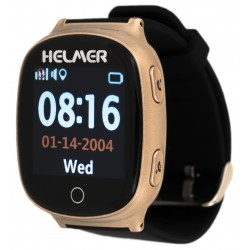 Helmer LK705  -volací hodinky s GPS lokátorem pro seniory , snímač srdečního tepu