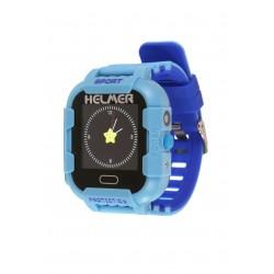 Helmer LK 708 modré - dětské hodinky s GPS lokátorem, fotoaparátem, vodotěsné.