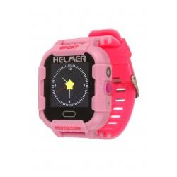 Helmer LK 708 růžové - dětské hodinky s GPS lokátorem, fotoaparátem, vodotěsné.