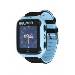 Helmer LK707 - dětské hodinky s GPS lokátorem modré, dotykový display