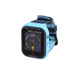 Helmer LK 709 4G modré - dětské hodinky s GPS lokátorem, videohovorem, vodotěsné.