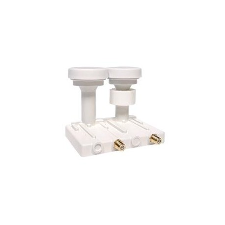 Opticum LNB Robust Monoblock Twin, 0,1dB, 4,3 st