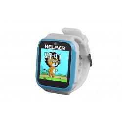 Helmer KW 801 modré - dětské inteligentní hodinky s hrami a fotoaparátem