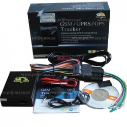 Profesionální GSM/GPRS/GPS Lokátor do auta